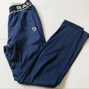 Fleece lined compression pants